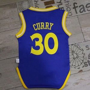 Curry Golden State Warriors baby infant jersey